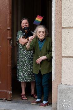 loveistherevil: vintagegayromance: Budapest Pride Felvonulás / Budapest Pride March 2014. Beauty