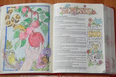 Various Art Mediums in the KJV My Creative Bible