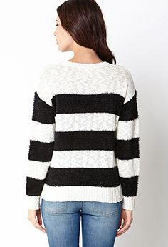 Favorite Striped Sweater | FOREVER 21 - 2031558221