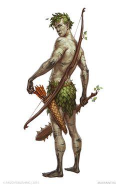Character illustrations for Pathfinder , Ekaterina Burmak on ArtStation at https://www.artstation.com/artwork/GYVXW