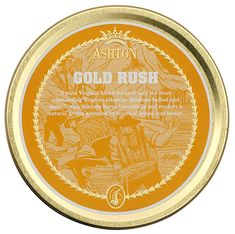 Tinned Pipe Tobaccos: Ashton Gold Rush 50g at Smokingpipes.com