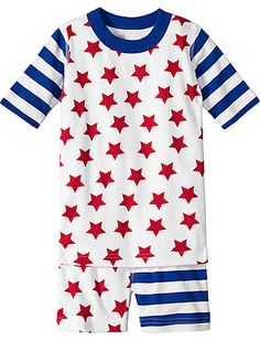 Hanna Andersson 4th of July pjs with part of proceeds going to a children's cancer charity.