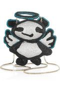 Angel Panda Minaudiere by Jimmy Choo