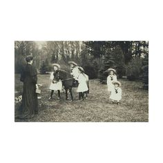 . #RomanovChristmas  Postcard showing Alexandra holding a camera and facing her children in the Alexander Palace Park. This postcard was sent by Alexandra to her cousin George Prince of Wales as a Christmas and New Year card for 1906/1907…