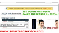 PROFIT:  $352 Dollars THIS WEEK! #marketing #entrepreneur TARGETED TRAFFIC HERE: http://goo.gl/vbx5sN
