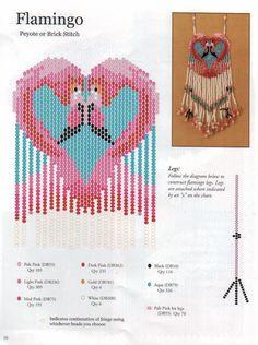 "Photo from album ""Разные схемы"" on Yandex. Beading Patterns Free, Beaded Bracelet Patterns, Peyote Patterns, Loom Patterns, Beaded Purses, Beaded Bags, Beads Pictures, Bag Pattern Free, Flamingo Pattern"