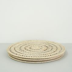Rattan Placemat Rustic Charm, Earthy, Rattan, Placemat, Texture, Rugs, Stuff To Buy, Home Decor, Wicker