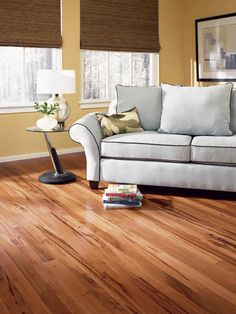 Prefinished Tigerwood Solid Hardwood Flooring 3/4 at Menards