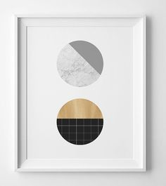 Scandinavian print wall art printable, Scandinavian art printable art, downloadable prints digital print, marble print modern print. You will
