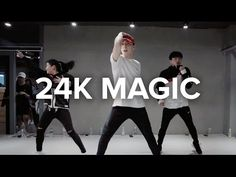 24K Magic - Bruno Mars / Kasper Choreography - YouTube