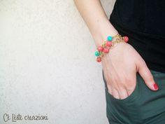 Quilling & wire  bracelet http://it.artesanum.com/artigianato-con_perle_tecnica_quilling_e_ricamo_wire-65071.html