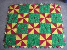 Pinwheels in Flannel Quilt