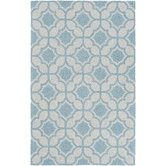 Found it at Wayfair - Impression Erica Hand-Tufted Light Blue Area Rug
