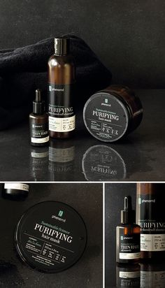 Phenome - organic skincare products on Behance