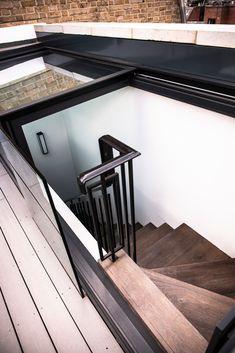 Photography by Jody Stewart Photography. Pergola Plans, Diy Pergola, Pergola Ideas, Wimbledon Village, Terrace Design, Townhouse, Stairs, Loft, Windows