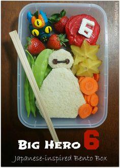 Big Hero 6 Bento Box