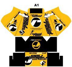 Designer : Alvin Gilbert Dc. Gonda abugonda@yahoo.com  Skate Board Packaging.