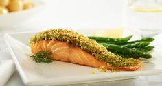 This delicious Baked Salmon with a Parmesan Crust recipe is made easy using the Breville® Halo+ Health Fryer. Delicious served with our Breville® Halo+ Mediterranean Roasted Vegetable recipe. Low Fat Fryer, Spicy Potato Wedges, Parmesan Crusted, Crust Recipe, Baked Salmon, Air Fryer Recipes, Vegetable Recipes, A Food, Food To Make