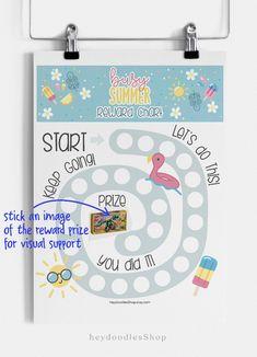 #rewardchart #rewardsforkids #kidsroom #kidsactivities Good Behavior Chart, Behaviour Chart, Toddler Reward Chart, Printable Reward Charts, Initial Wall Art, Playroom Wall Decor, Sticker Chart, Free Graphics, Business For Kids
