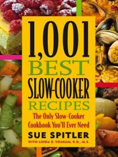 FREE Kindle Cookbook 1001 Best Slow-Cooker Recipes  http://thefrugalgirls.com/2012/06/free-kindle-cookbook-1001-best-slow-cooker-recipes.html