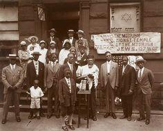 Black Jews, Harlem, 1929 | James van der Zee  Moorish Zionist Temple of the Moorish Jews, West 137th Street