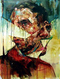 Andrew Salgado - The Aftermath, Öl auf Leinwand