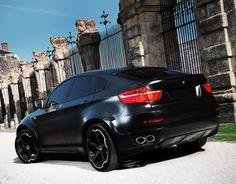 GIOVANNA® - DALAR-5 Black with Machined Stripe Wheels on BMW X6