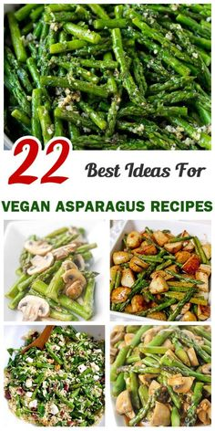 22 Vegan Asparagus Recipes
