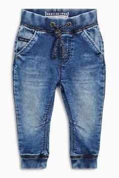 Kaufen Sie Jersey-Jogginghose in mittlerer Waschung (3 Monate bis 6 Jahre) heute…
