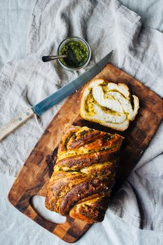 Pesto Bread. I'm going to at least make an attempt at this.