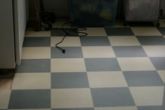 Marmoleum Click Barbados & Eternity (stripes instead of checkerboard) - good flooring for allergy sufferers