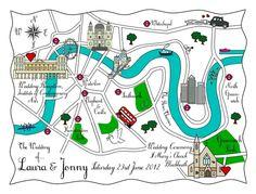 London Bride - Unique Style for you London Bride, London Wedding, Wedding Stationary, Wedding Invitations, Wedding Bells, Wedding Events, London Map, Wedding Paper, Perfect Wedding