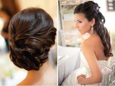 Bride's cute hair accessories