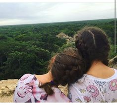 Just two sisters enjoying God's Earth