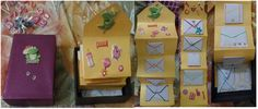 16 Fold Message BOX  Current Theme : Baby Shower