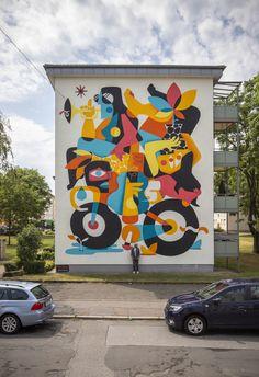 Home Decor Art Intercultural Balance by Ruben Sanchez in Mannheim Germany.Home Decor Art Intercultural Balance by Ruben Sanchez in Mannheim Germany Wall Canvas, Framed Wall Art, Framed Art Prints, Kids Room Murals, Murals For Kids, Mural Art, Public Art, Vintage Decor, Pop Art