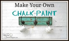 Knick of Time: DIY Chalk Paint
