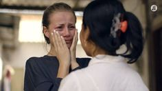 Powerful reality series: Three young Norwegian fashionistas sent to work in Cambodian sweatshops.