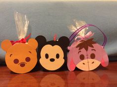 DIY Tsum Tsum Treat Box made from Paper Towel Rolls