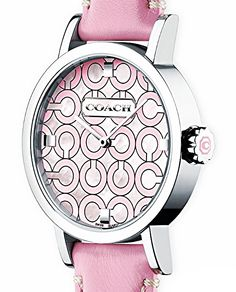 Pink Coach watch!  I take one in every color please!