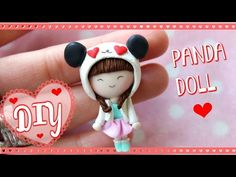 Panda Chibi ♥ Love Doll ♥ polymer clay tutorial