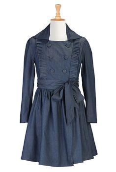 Ruffled military Steampunk jacket Dress $89.95