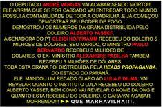 """"""" BLOG do Ivan maia """" GUAPIMIRIM REAGE BRASIL.: Denúncias do Deputado André Vargas."""