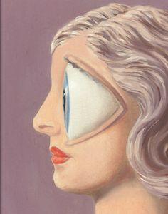 René Magritte,La femme du maçon (1958) Detail