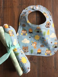 Baby Boy Bib, Baby Burp Cloths, Baby Girl Bib, Baby Girl Burp Cloths, Baby Bib and Burp Cloth Set, Baby Shower Gift Set, Gender Neutral Set. by SassyCecyBabyShop on Etsy