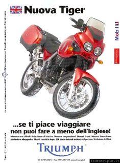 2004 pubblicità Triumph Tiger 955i Triumph Tiger, Motorbikes, Motorcycles, Bmw, Cars, Log Projects, Autos, Car, Automobile