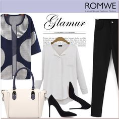 ROMWE II/3 by amra-mak on Polyvore featuring moda, Gianvito Rossi and romwe