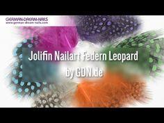 Jolifin Nailart Federn Leopard by GDN.de #jolifin #nailart #nageldesign http://www.german-dream-nails.com Wer es extravagant mag, der greift zu den Jolifin Nailart Federn im auffälligen Leo-Look. Diese farbenfrohe Nailart gestaltet Eure Fingernägel zu einem beeindruckenden Hingucker und wirkt besonders als Schmucknagel elegant und verspielt zugleich. Bei dieser Nailart schmückt man sich doch gerne mit fremden Federn.