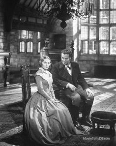 Jane Eyre 1944 - Orson Welles & Joan Fontaine  If you are going to watch this movie this is the one not the numerous remakes. Love this movie!!!