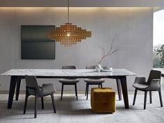 VENTURA Chair by Poliform design Jean-Marie Massaud
